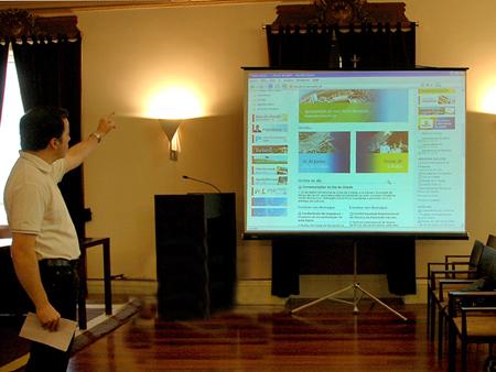 Apresentado novo Portal Municipal - www.cm-pvarzim.pt