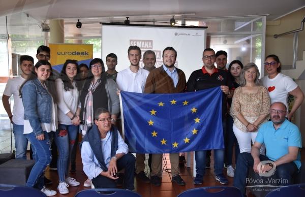 """Workshop """"Eurolíderes"""" na Casa da Juventude"""