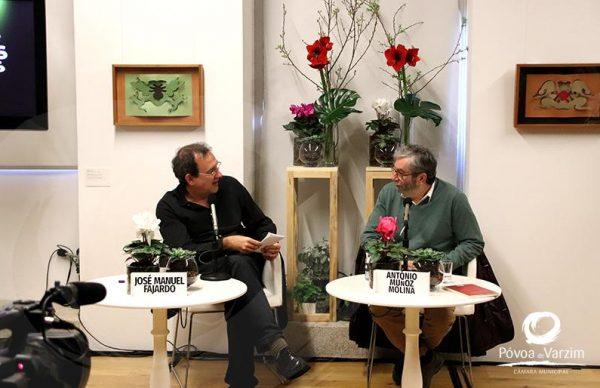 Correntes à conversa com Antonio Muñoz Molina e José Manuel Fajardo