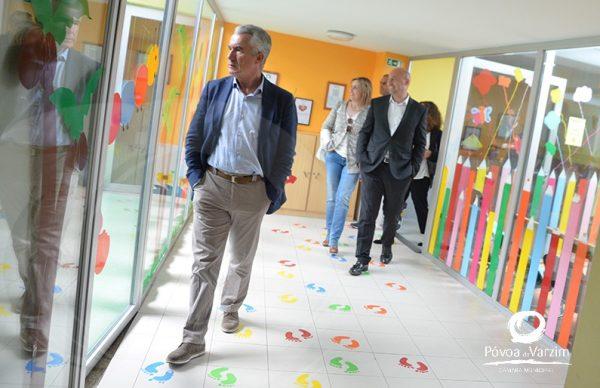 Centro Social de Beiriz recebe visita do Presidente da Câmara
