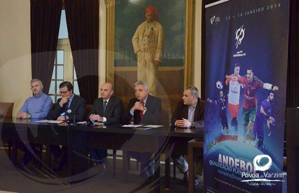 Qualificação para o Mundial de Andebol joga-se na Póvoa de Varzim