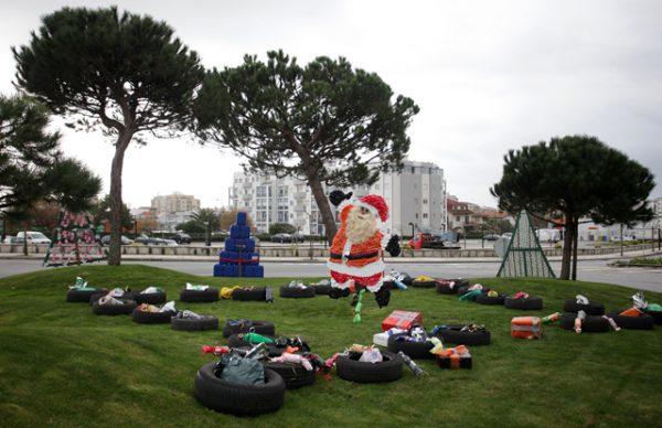 Eco-Rotundas e Eco-Presépios: A Eco-Magia do Natal