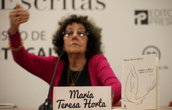 Nova edição de obra de Maria Teresa Horta foi apresentada ontem