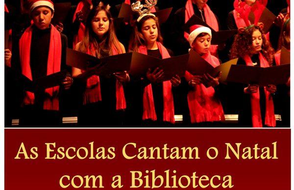 As Escolas cantam o Natal com a Biblioteca