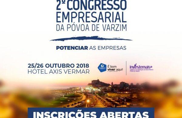 2º Congresso Empresarial da Póvoa de Varzim: inscrições abertas