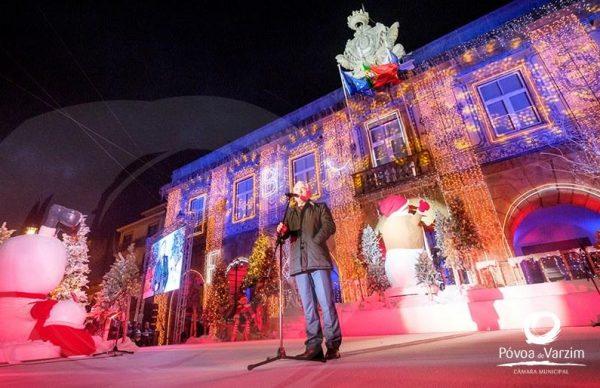 A magia do Natal invadiu a Póvoa de Varzim… a festa continua até 6 de janeiro