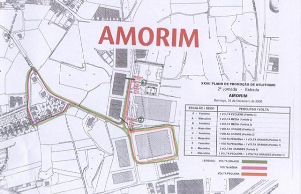 Plano de Promoção do Atletismo: Prova de estrada em Amorim
