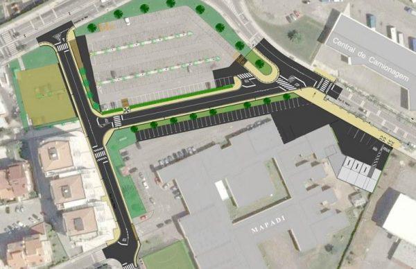 Aprovada Candidatura para Estruturação de Corredor Urbano - Rua José Régio