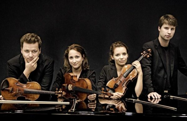 Armida Quartet esta quinta-feira no FIMPV