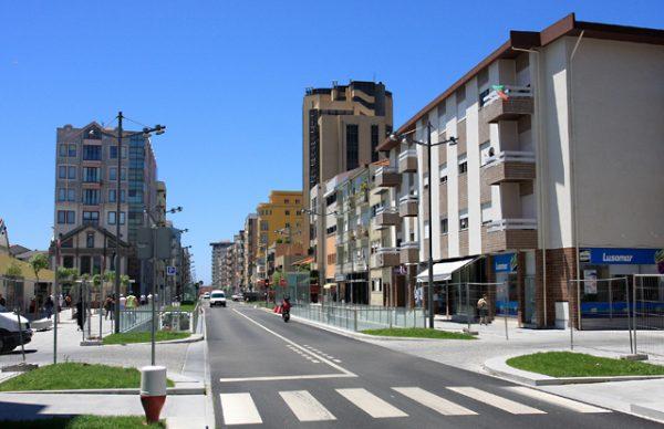 Inauguração da Avenida Mousinho de Albuquerque