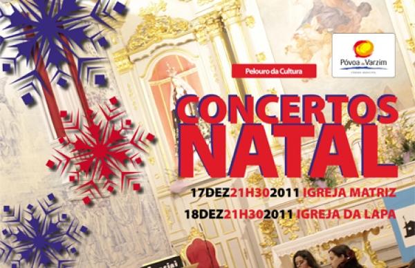 Concertos de Natal na Matriz e na Lapa