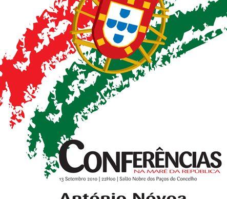 """António Nóvoa – próximo convidado Conferências """"Na Maré da República"""""""