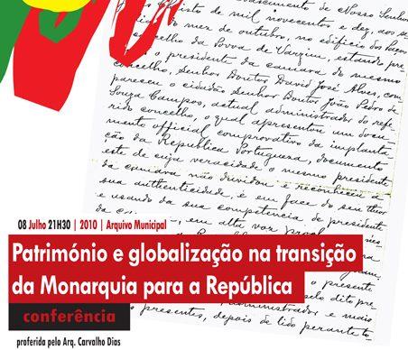 Património e Globalização dão a mote a conferência de Carvalho Dias