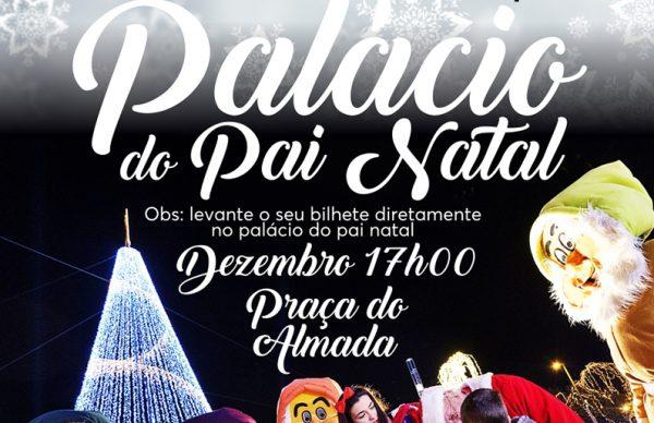 Palácio do Pai Natal recebe espetáculos infantis