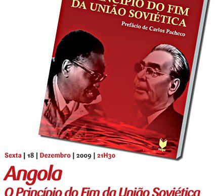 A União Soviética e Angola em livro apresentado dia 18, no Diana Bar