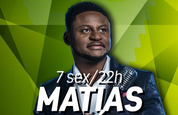 Matias Damásio: duas semanas para o grande concerto