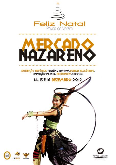 Cartaz Mercado Nazareno 2012