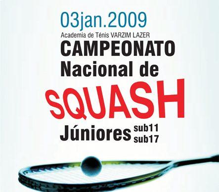 Campeonato Nacional de Squash encerra época na Póvoa de Varzim