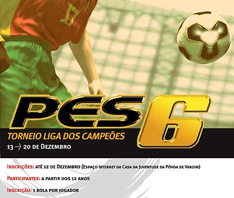 Torneio Pro Evolution Soccer 6: diversão e competição na Casa da Juventude