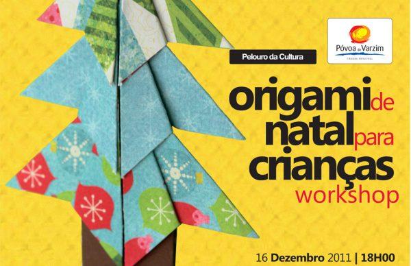 Origami de Natal para crianças