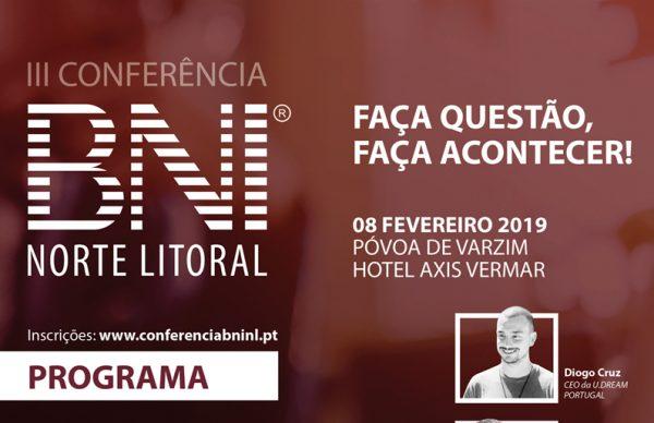 Inscrições abertas para III Conferência BNI