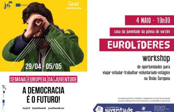 "Casa da Juventude promove workshop ""Eurolíderes"""