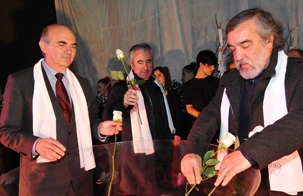Cerimónia Encontro pela Paz marcada por momentos culturais