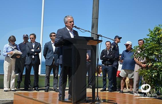 """Cerimónia Nacional das Bandeiras Azuis: """"Dia histórico"""""""