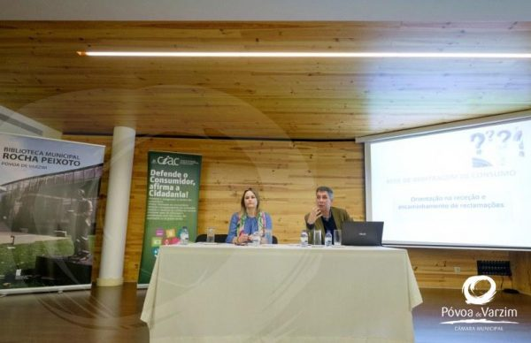 """CIAC organizou sessão informativa sobre """"Reclamações de consumo e serviços públicos essenciais"""""""