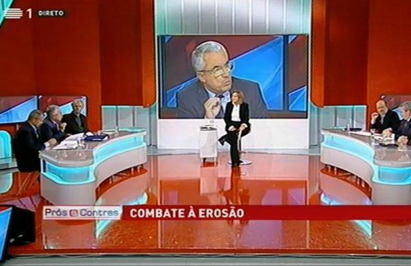 """Combate à Erosão costeira em debate no """"Prós e Contras"""" da RTP"""