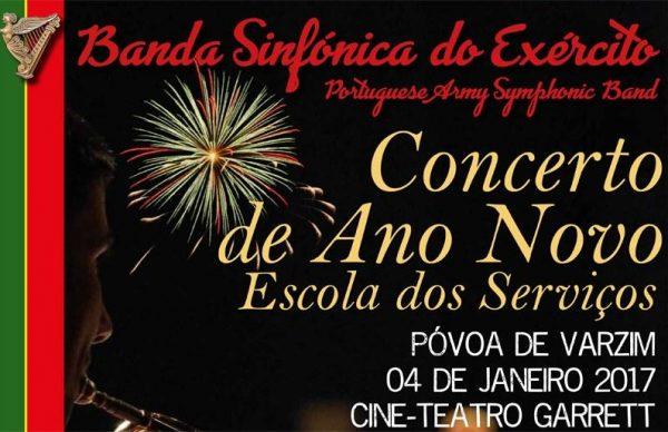 Concerto de Ano Novo pela Banda Sinfónica do Exército