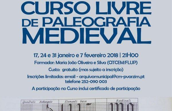 Curso Livre de Paleografia Medieval gratuito no Arquivo