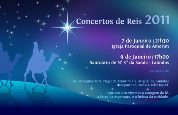 Dia de Reis comemorado em Amorim e Laundos com concertos