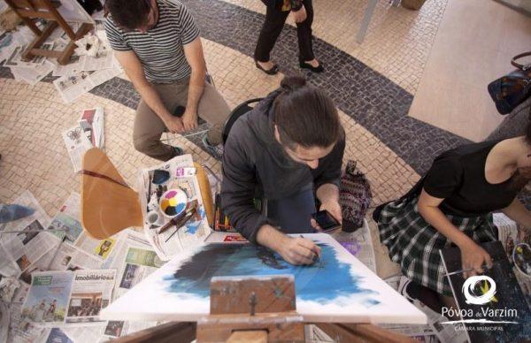 Depois da Praça dos Pintores vem aí a exposição das telas dos jovens artistas