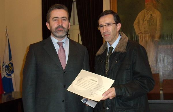Afonso Oliveira entregou lucros da Festa da Rabanada