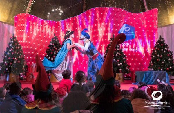 Espetáculos para toda a família no Palácio do Pai Natal