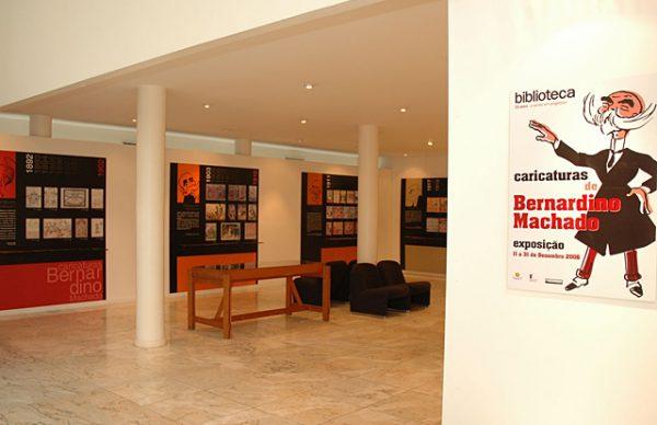 Caricaturas de Bernardino Machado – exposição na Biblioteca até ao final deste mês