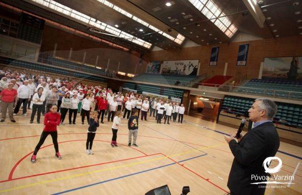 Festa de Natal do Projeto Desporto Sénior