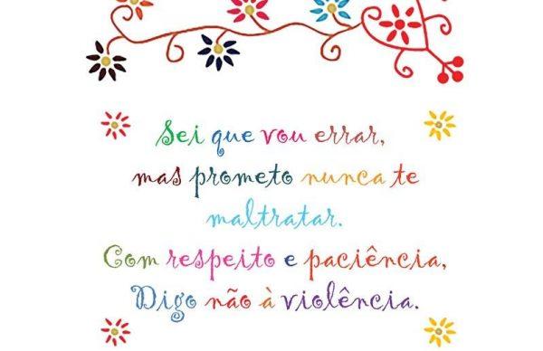 """Fevereiro é o Mês dos Afetos: """"Relacionamento violento Não é Amor!"""""""