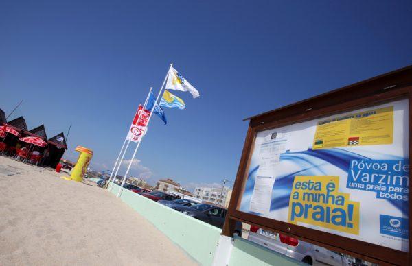 Póvoa de Varzim com sete praias Bandeira Azul