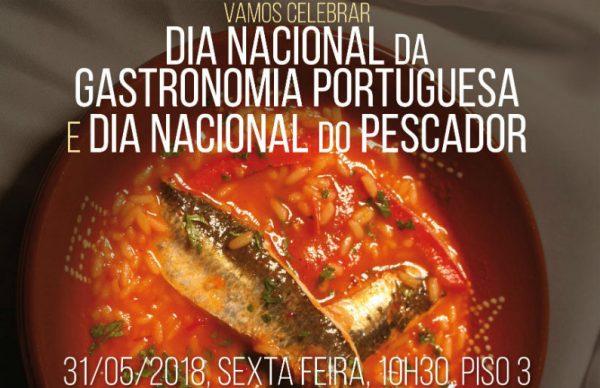 Mercado comemora Dia da Gastronomia e do Pescador