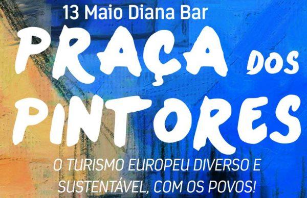 Praça dos Pintores promove intercâmbio cultural no Diana Bar