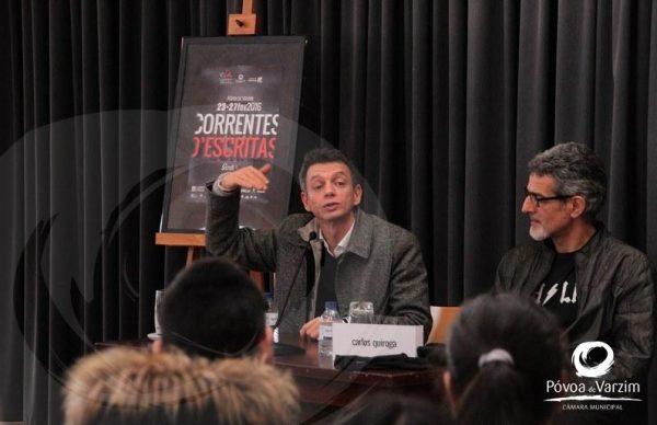 João Felgar e Carlos Quiroga encontraram-se com alunos de Vila do Conde