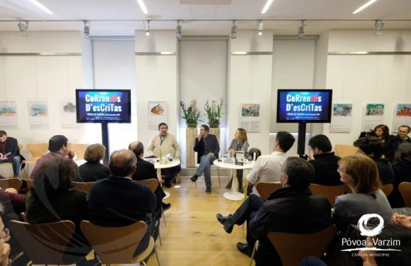 Juan Gabriel Vásquez e João Gobern apresentam os seus livros