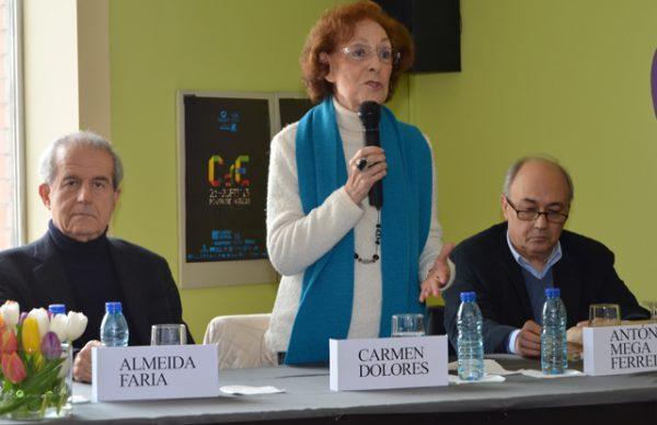 Carmen Dolores, António Mega Ferreira e Almeida Faria apresentam livros