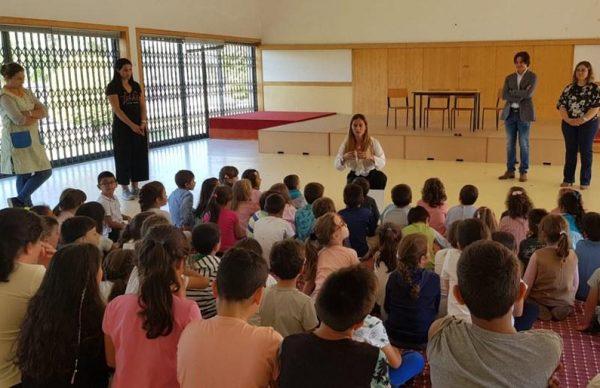 Lipor Geração + entrega cinco corações verdes no Agrupamento de Aver-o-Mar