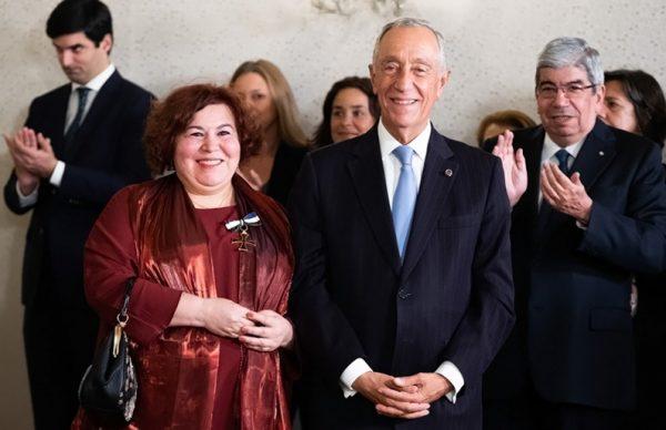 Manuela Ribeiro distinguida com o grau de Comendador da Ordem do Infante D. Henrique