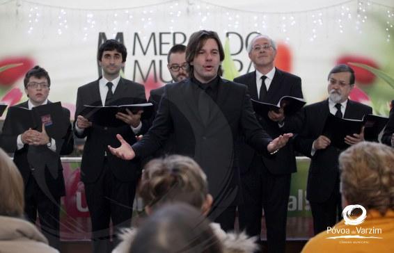 Mercado de Natal abre portas à música