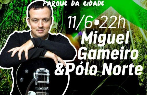 Miguel Gameiro e Pólo Norte no Parque da Cidade a celebrar 20 anos de carreira