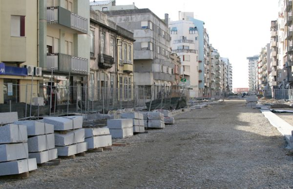 Avenida Mousinho – o desembrulhar da nova imagem